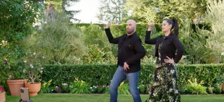 Quand John Travolta reproduit une chorégraphie de «Grease» avec...