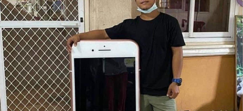 Il pense faire une bonne affaire en achetant un iPhone et reçoit...
