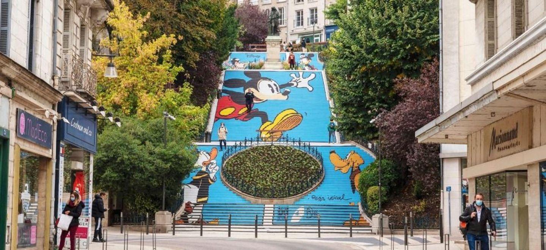 Blois : choisissez le prochain habillage de l'escalier Denis Papin