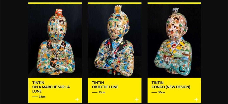 Un sculpteur s'inspirant de Tintin poursuivi par les héritiers d'Hergé