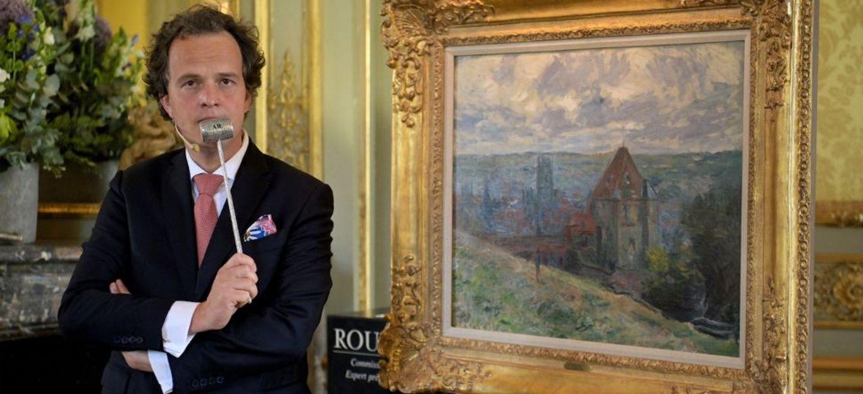 Indre-et-Loire : pas d'acheteur pour une toile de Monet mise à prix...