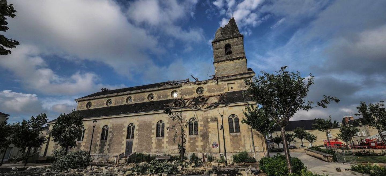 Indre-et-Loire : une cagnotte pour restaurer l'église de...