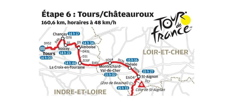 Passage du Tour de France à Amboise : informations pratiques