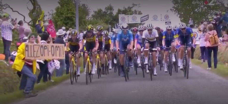 Tour de France : la spectatrice à l'origine d'une chute massive...
