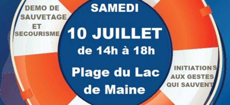 Journée prévention sur les risques de noyade en Maine-et-Loire