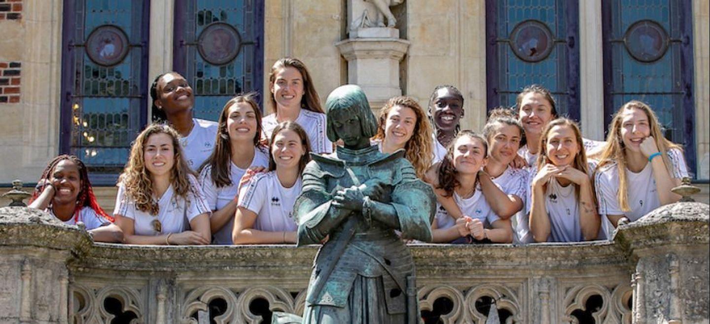 L'équipe de France féminine de Volley-Ball en stage à Orléans
