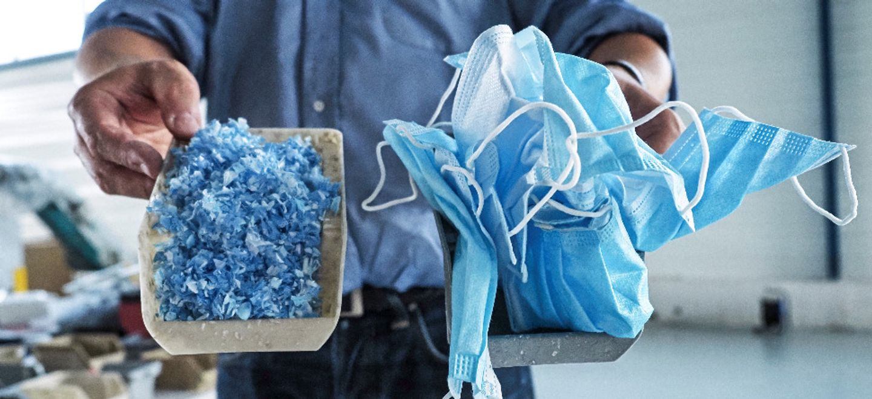 Une entreprise de Châtellerault recycle les masques usagés