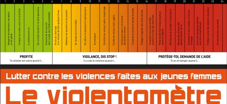 """Nous Toutes 45 : distribution de """"violentomètres"""" pour alerter sur..."""