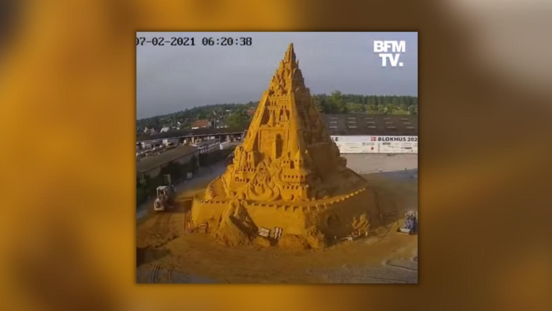 Record Château de sable