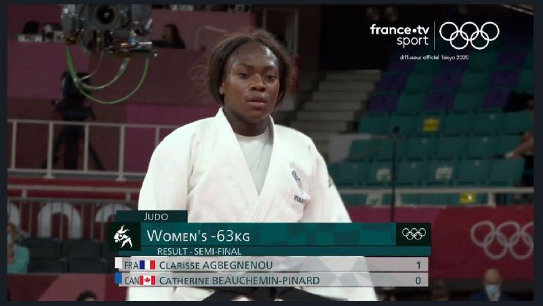 La judokate rennaise Clarisse Agbégnénou sacrée championne olympique
