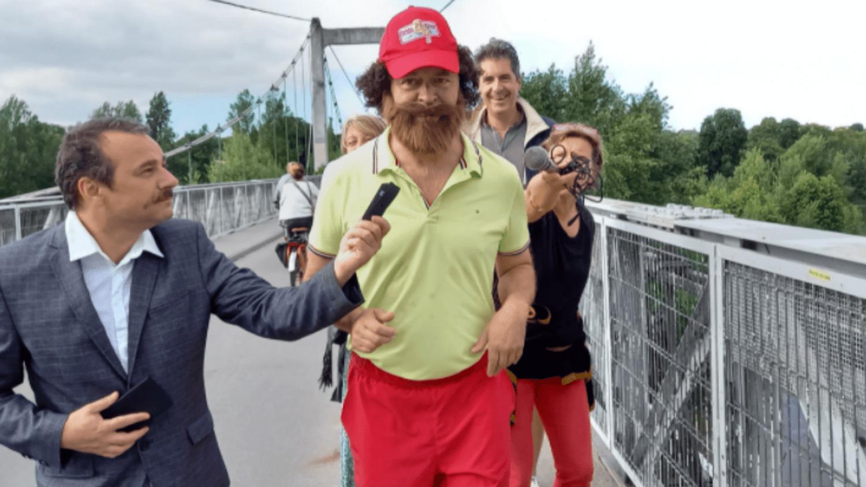 Tours : un homme va parcourir 170 km déguisé en Forrest Gump