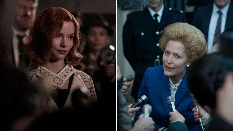 Netflix The Crown Jeu de la Dame