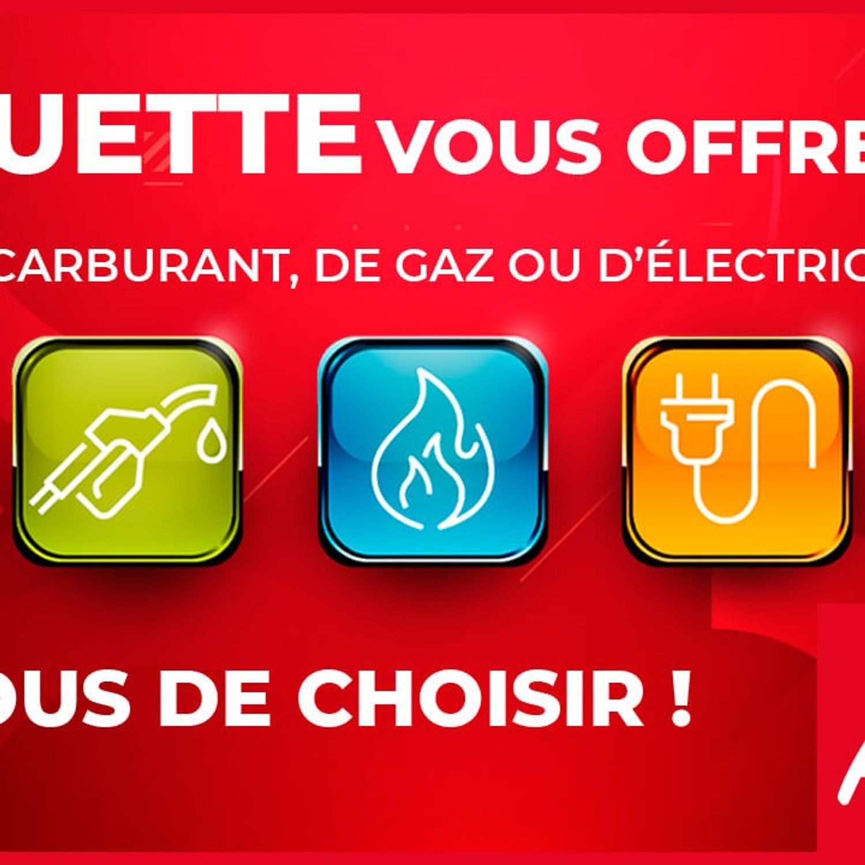 Alouette vous offre 1 an de carburant, de gaz ou d'électricité !