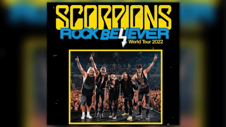 Scorpions : tournée 2022 et un nouvel album en février
