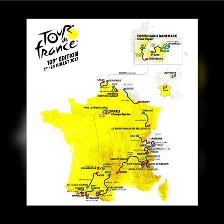 Le Tour de France ne passera pas par l'Ouest