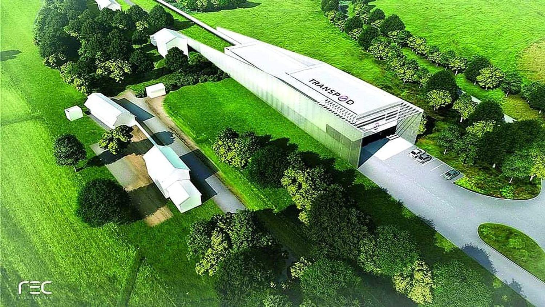 Projet de centre de développement et d'essai TransPod à Droux