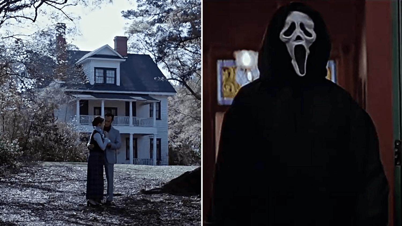 La maison de scream en location sur Airbnb & la maison de Conjuring en vente