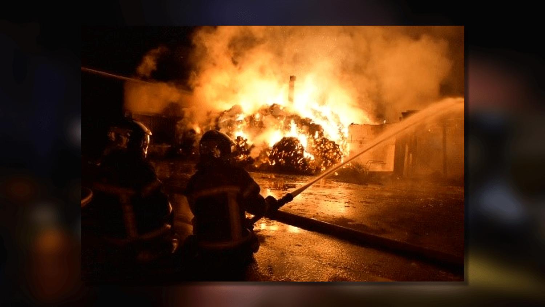 Une trentaine de pompiers ont été mobilisés durant plusieurs heures