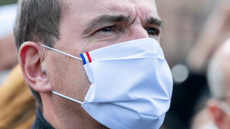 Jean Castex masque