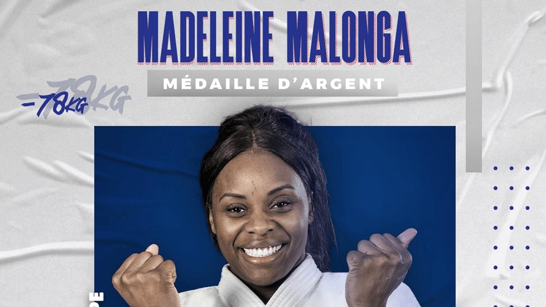 Madeleine Malonga décroche l'argent