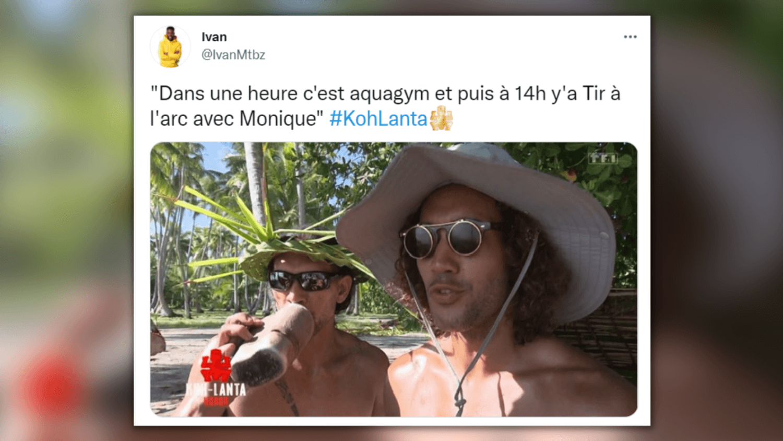 Koh-Lanta, La Légende - top tweets