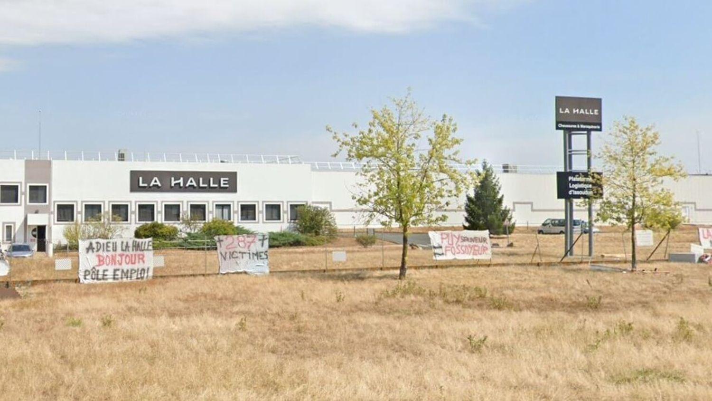 Ancien entrepôt logistique la Halle à Issoudun
