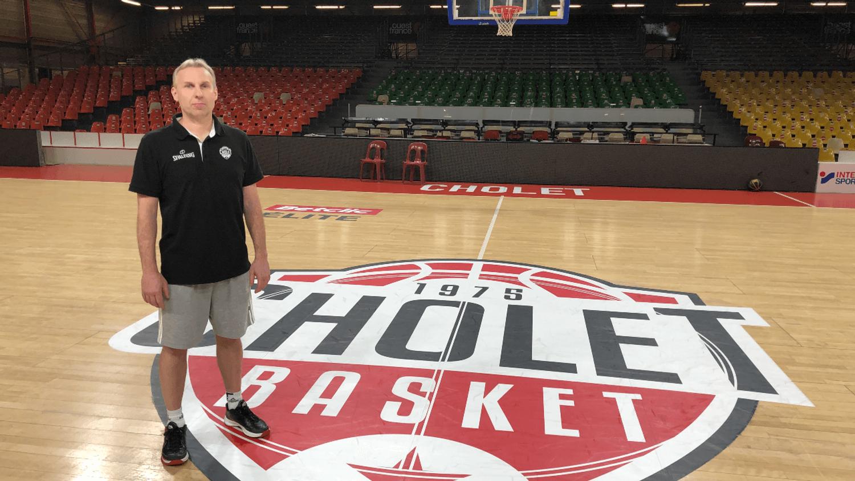 Laurent Vila, nouveau coach de Cholet Basket