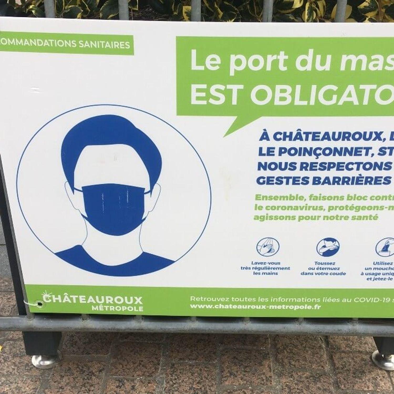 Le préfet de l'Indre assouplit les conditions du port du masque...
