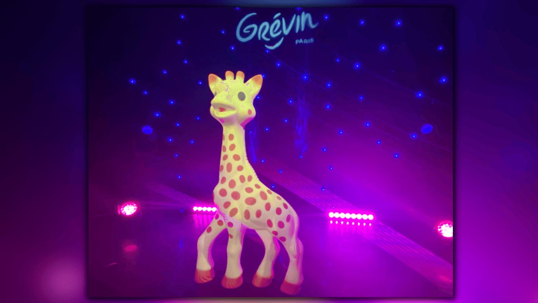 Sophie La Girafe au musée Grévin