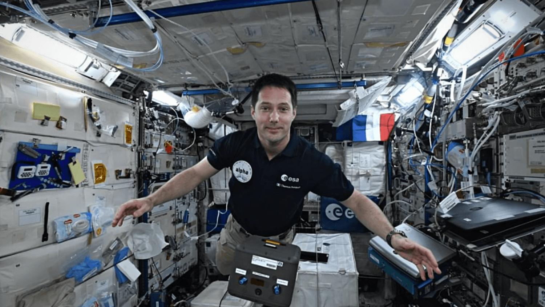 Thomas Pesquet - le Grand Ouest depuis l'espace !