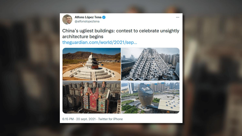 Batiments laids en Chine