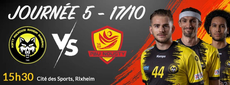 ASPTT Mulhouse RIxheim  vs  Pau