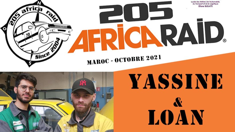 205 Africa Raid avec Greta Sud-Alsace et Radio ECN