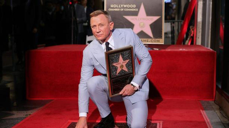 Daniel Craig sur le Walk of Fame