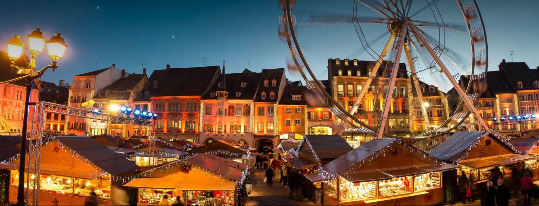 Marché de Noel à Mulhouse ) partir du 24 novembre