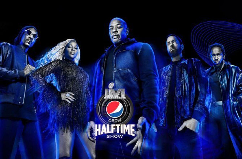 La crème du Hip Hop US pour le show du Super Bowl 2022