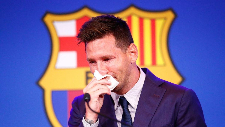 Retour sur la conférence de presse émouvante de Messi avant de quitter Barcelone.