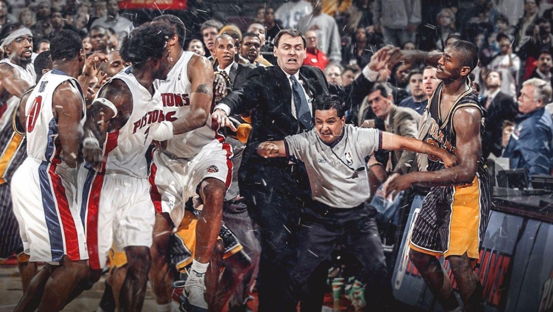 Netflix propose un documentaire sur la plus grosse bagarre de la NBA