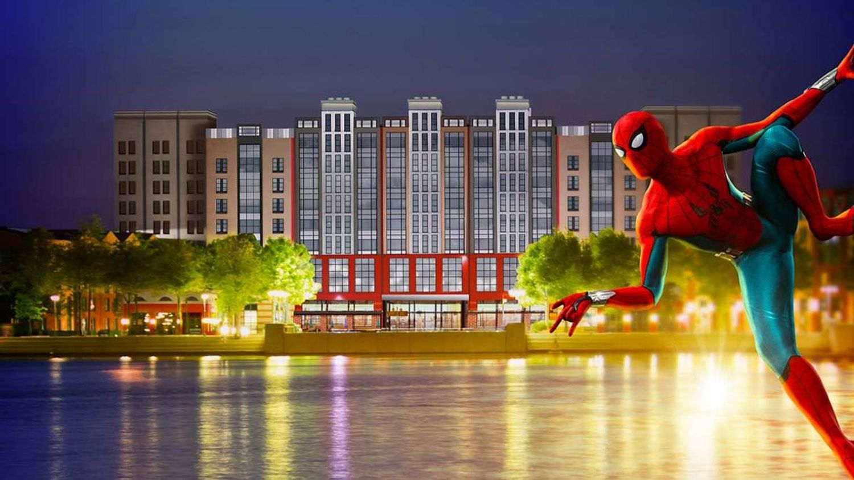 Disneyland Paris inaugure le premier hôtel à l'effigie de Marvel