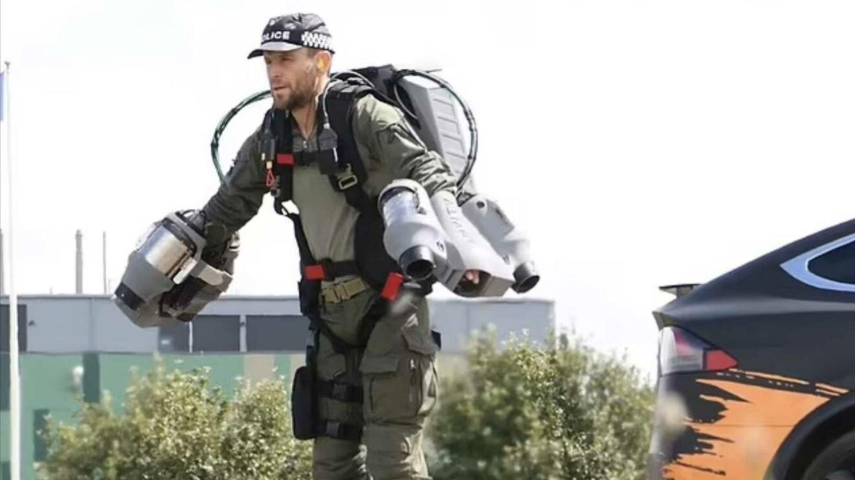 Des policiers pourraient bientôt utiliser des jet packs