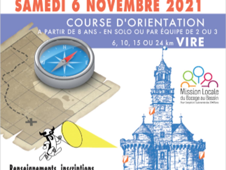 COURSE D'ORIENTATION VIRKINGRAID - Vire