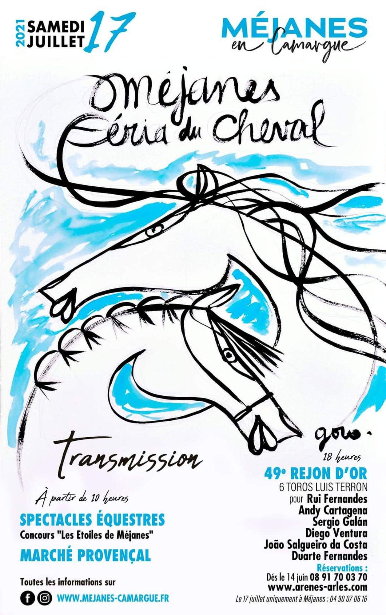 [ CULTURE/LOISIR ] Méjanes en Camargue: La féria et le 49ème Réjon d'Or c'est ce samedi 17 juillet