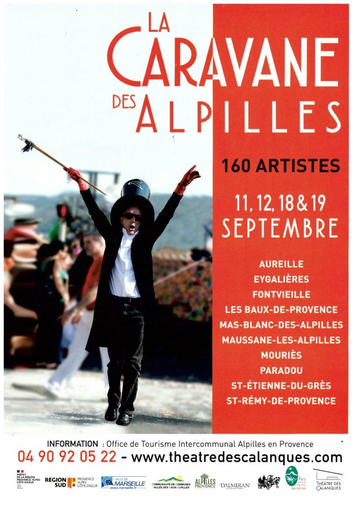 [ CULTURE/LOISIR ] SAVE THE DATE ! LA CARAVANE DES ALPILLES DU 11 AU 12 SEPTEMBRE