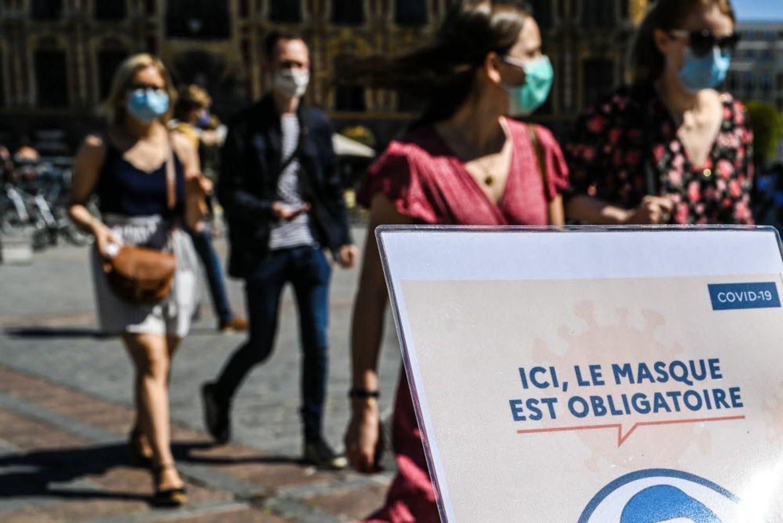 [ SOCIETE/SANTE ] Boûches-du-Rhône: Le masque fait son retour en extérieur