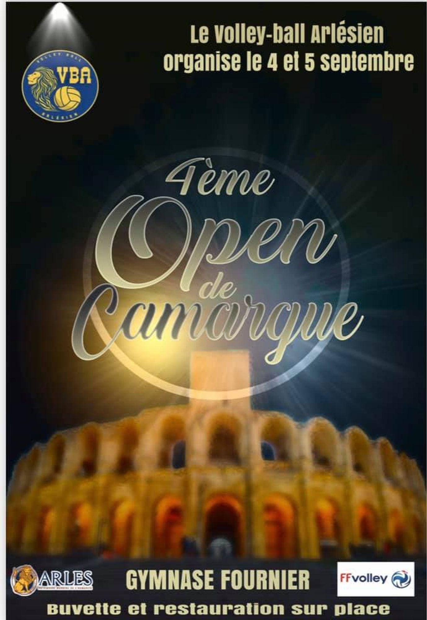 [ SPORT ] Volleyball/Arles: La 4ème édition de l'Open de Camargue se déroulera ce weekend