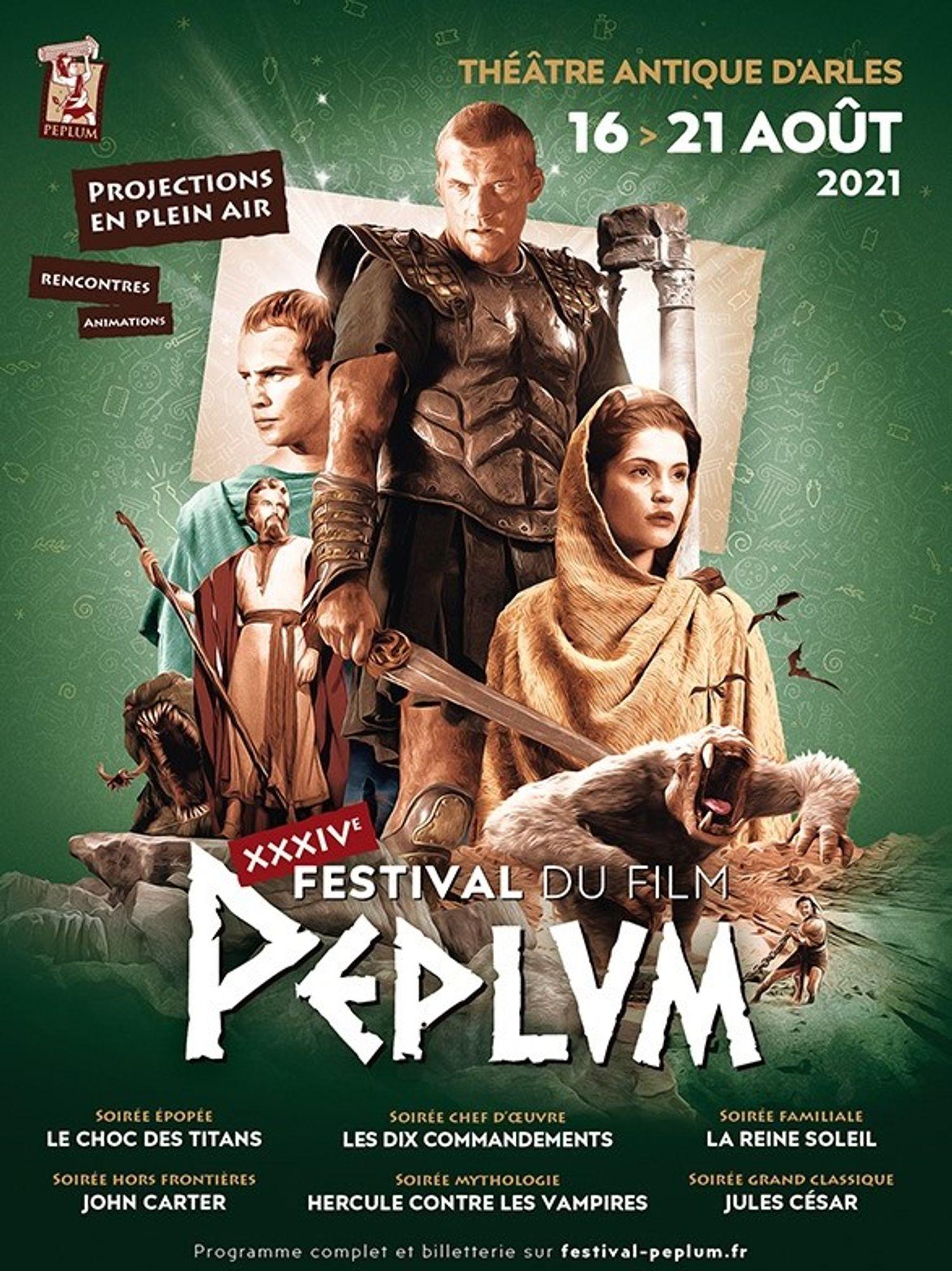 [ CULTURE-LOISIR ] Gagnez vos invitations pour le Festival du film Peplum