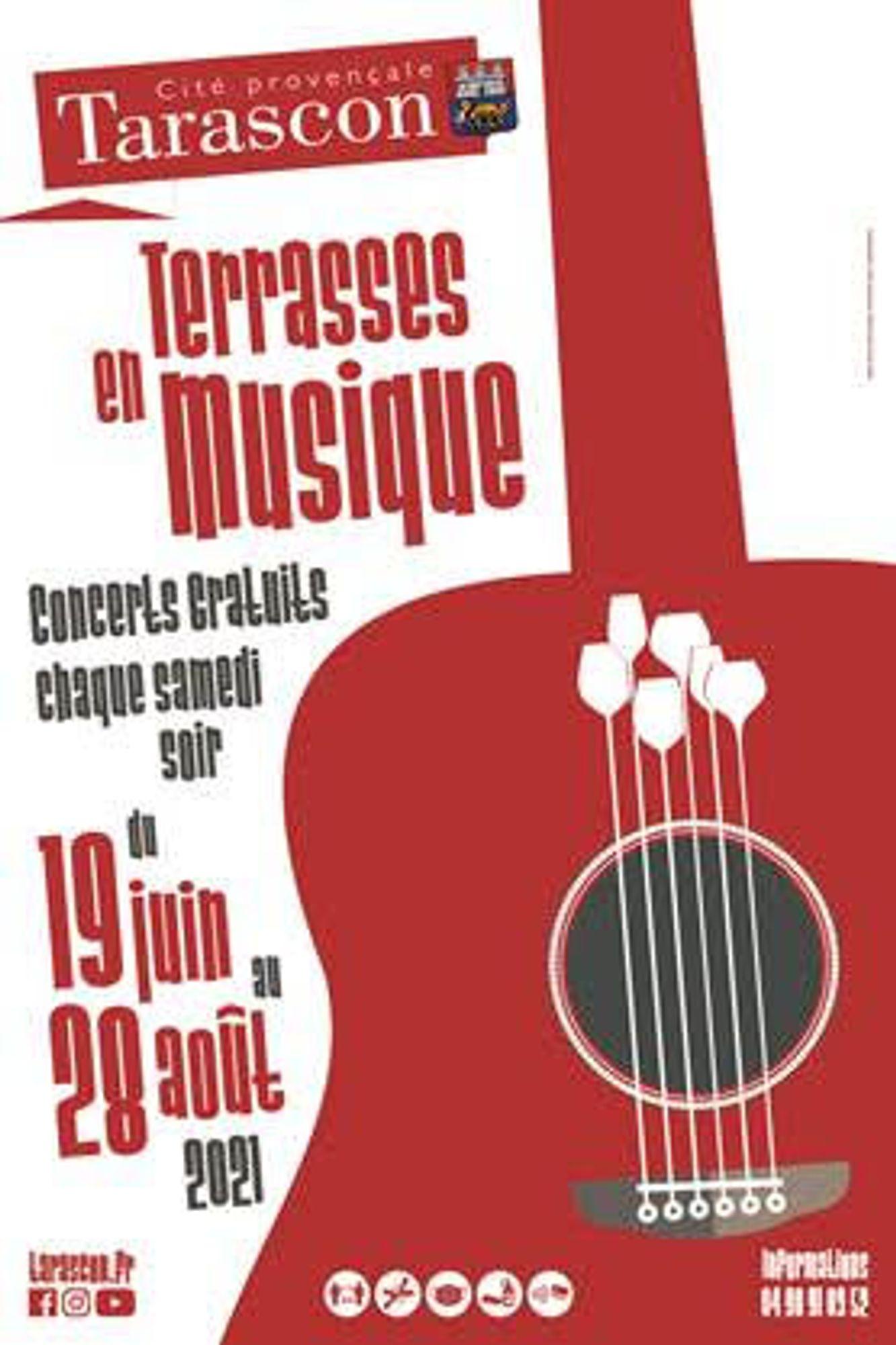 [ CULTURE/LOISIR  ] Les Terrasses en musique débutent ce week-end à Tarascon !