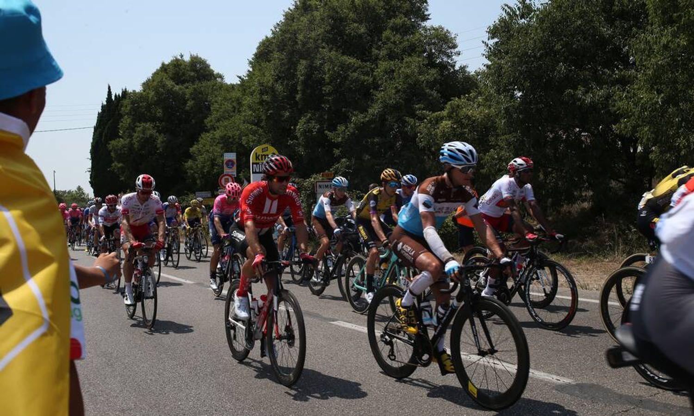 [ SPORT ] Cyclisme/Tour de France: Les coureurs font un crochet à Nîmes