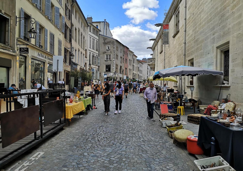 La Braderie Grande Rue à Nancy