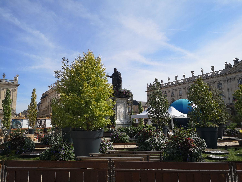 La Place Stanislas ce mercredi 22 septembre 2021